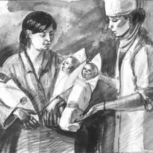 Иллюстрация в газету «Северный рабочий» 2018г.