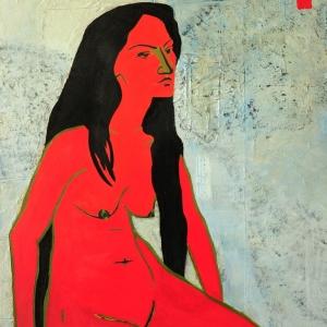 Красный портрет | Red portrait
