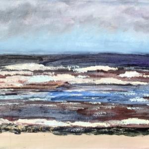 Берег Белого моря в Нёноксе