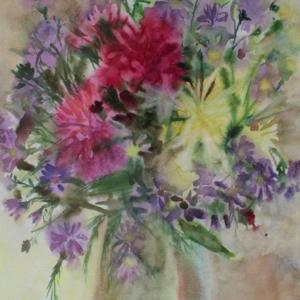 Букет   Bunch of flowers