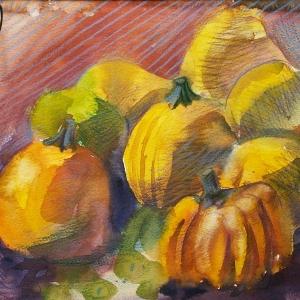 Декоративные тыквы   Decorative pumpkins