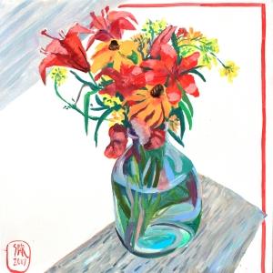 Букет дачный   Datcha's bunch of flowers