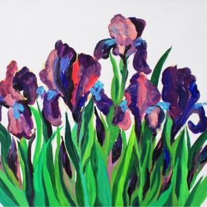 Ирисы | Fleur de lis